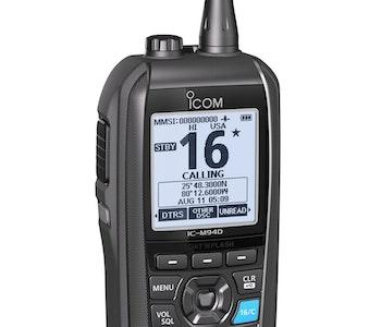 Icom 80394 - IC-M94DE Bärbar Marinradio med AIS, GPS & DSC