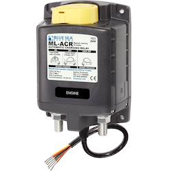 Blue Sea Systems 7623B - Skiljerelä 24V 500A manuell kontrolll (exkl. 2146 switch)