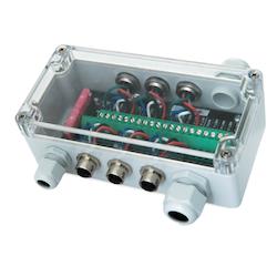 Actisense QNB-1-PMW - Multiport-modul 6 portar NMEA 2000 med Micro honkontakter. Inkl avsäkrad spänningsmatning