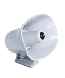 "Standard Horizon - 5"" x 8"" Rectangular Loud Hailer Horn"