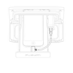 Fusion - UniDock iPhone 30 pin kabel