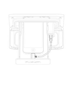 Fusion - UniDock iPhone lightning kabel