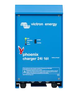 Victron Energy - Phoenix batteriladdare 24V/16A 2+1 utgångar