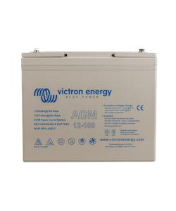 Victron Energy - AGM Super Cycle Batteri 12V/100Ah CCA (SAE) 500, M6-gänga