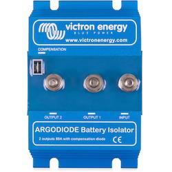 Victron Energy - Argo Skiljediod 120-2AC, 2 batterier, 120A