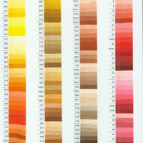 Anchor mouliné färg 887 - 974