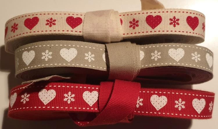 Julband med hjärtan