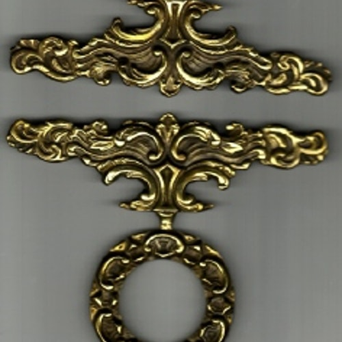 6 cm bred 2 delar