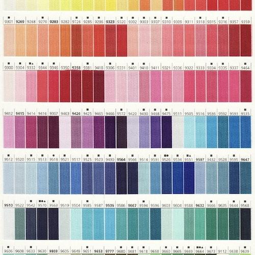 Mölnlycke sytråd färg 9000-9299