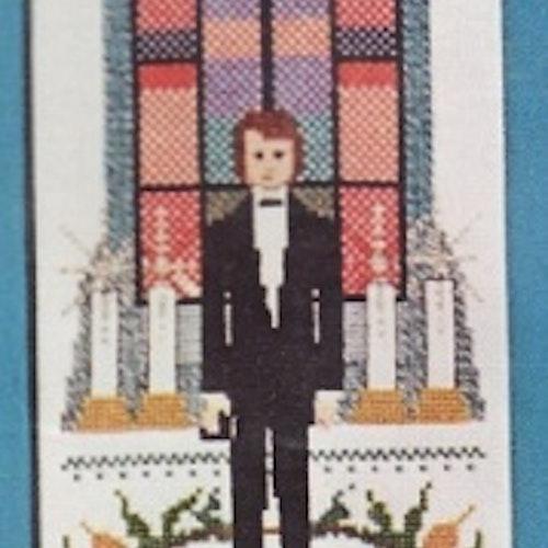 Konfirmation - Pojke i kyrka