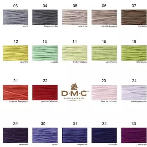 DMC nya färger mouliné färg 1 - 35