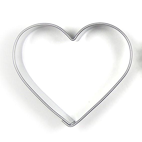 Kak-/tovningsform litet hjärta