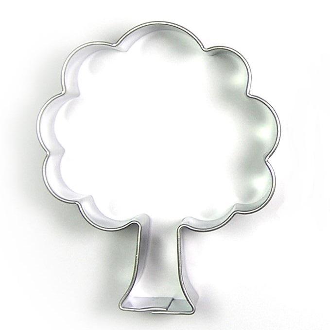 Kak-/tovningsform Träd