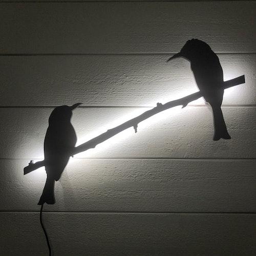 Two birds , utomhus utförande