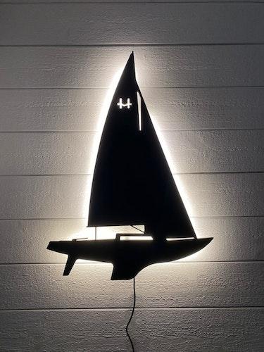 Vägglampa Segelbåt H-båt Utomhus utförande