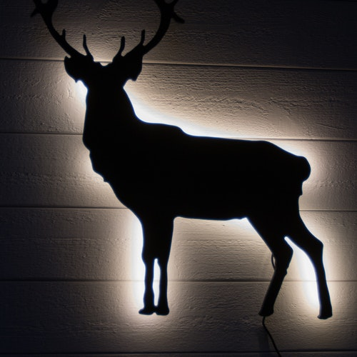 Wall light Deer
