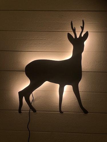 Vägglampa Råbock