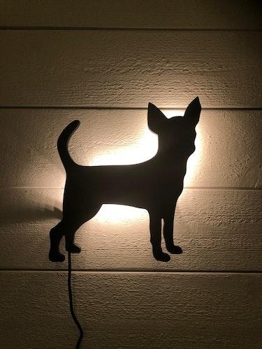 Vägglampa Chihuahua