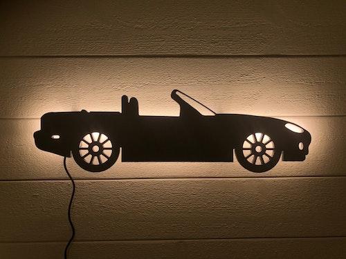 Vägglampa Bil Mazda Miata NC