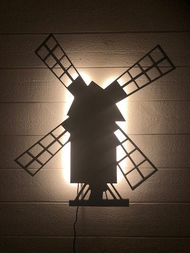 Vägglampa Väderkvarn
