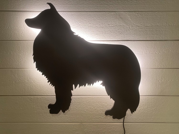 Vägglampa Collie