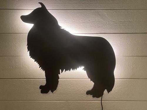 Vägglampa Collie