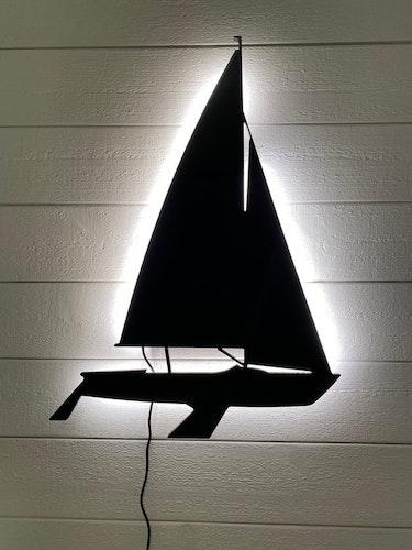 Vägglampa Segelbåt 606
