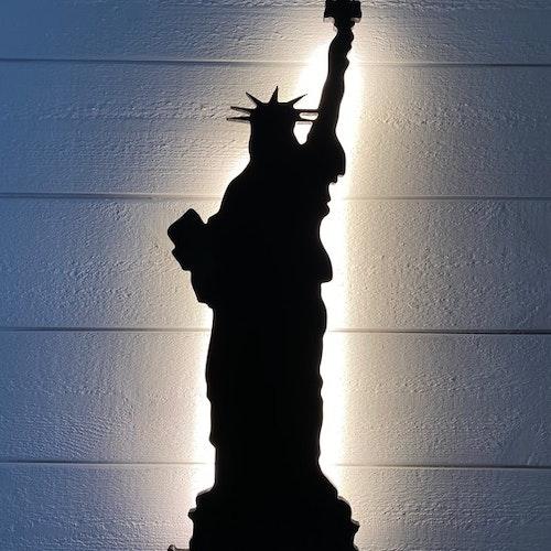 Vägglampa Frihetsgudinnan