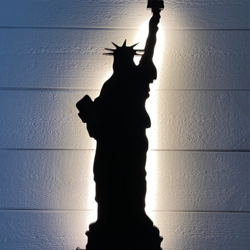 Wall lamp Statue of Liberty