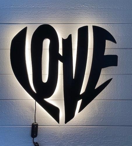 Wall light Love