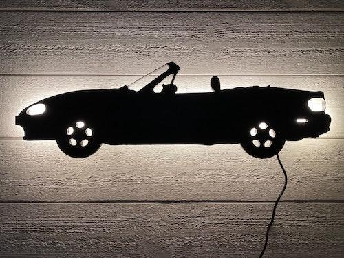 Vägglampa Bil Mazda Miata NB