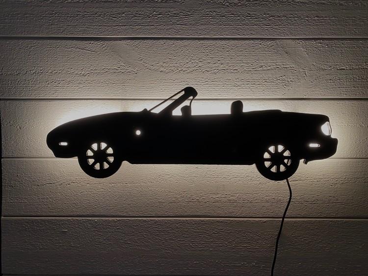 Vägglampa Bil Mazda Miata NA