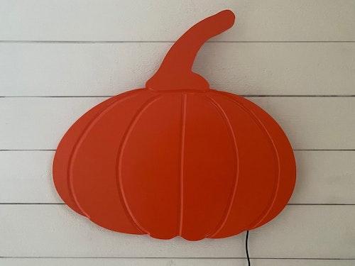 Vägglampa Pumpa Orange