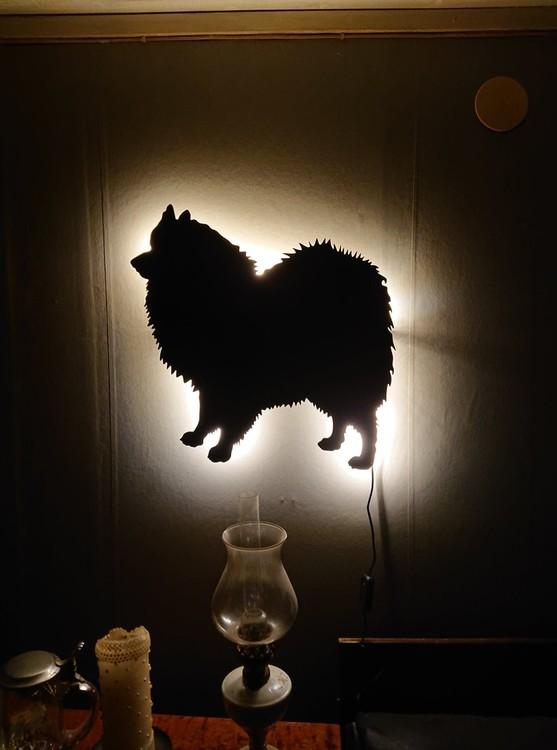 Vägglampa Japansk Spets