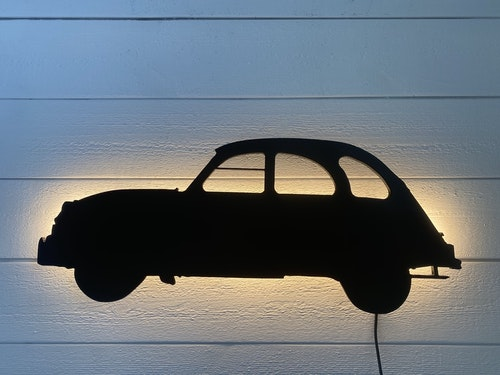 Vägglampa Bil Citroën 2CV