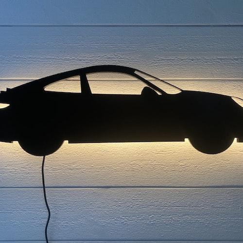 Vägglampa Bil Porsche