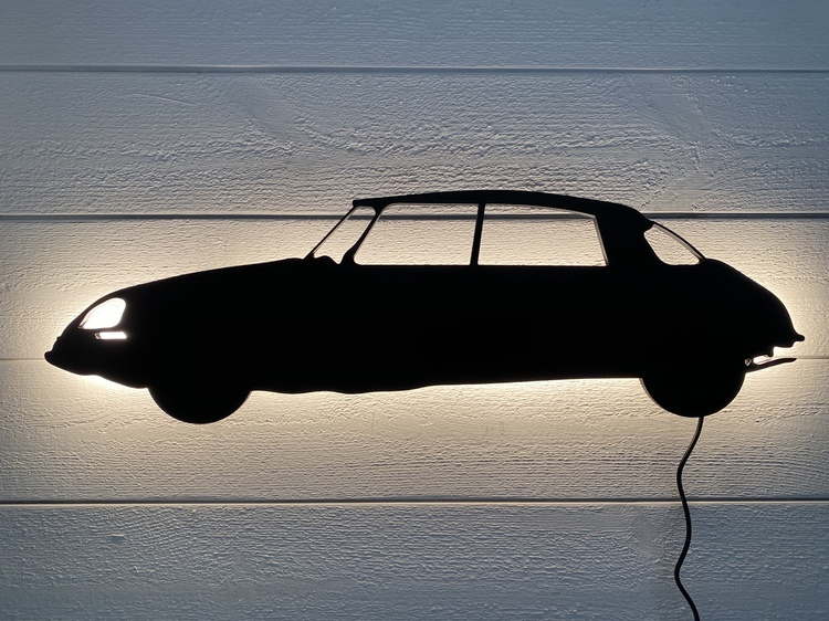 Vägglampa Bil Citroën DS