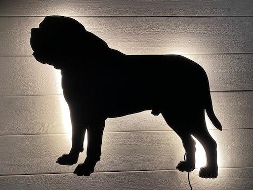 Vägglampa Mastiff