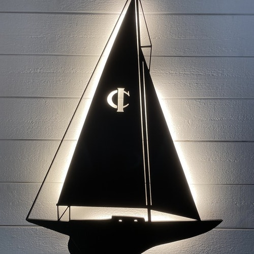 Vägglampa Segelbåt IOD