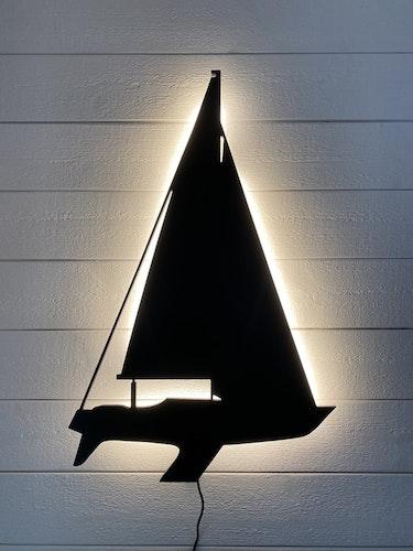 Vägglampa Segelbåt 806