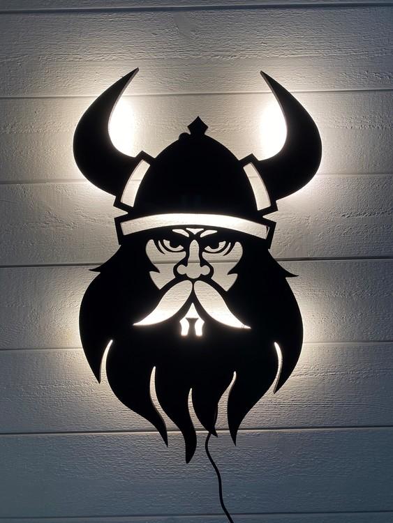 Vägglampa Viking