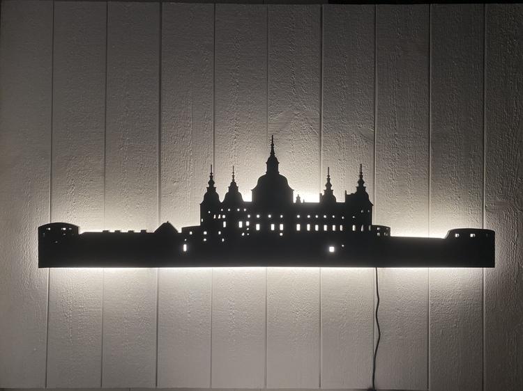 Vägglampa Kalmar Slott