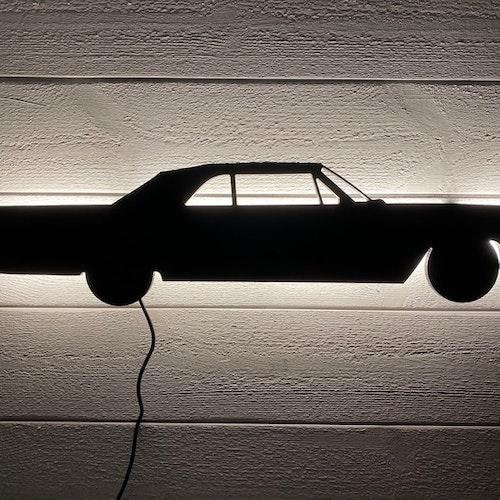 Vägglampa Bil Cadillac 1963 cab