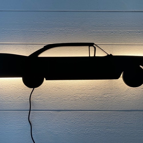 Vägglampa Bil Cadillac 1959