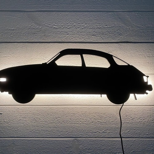 Wall light Car SAAB 96