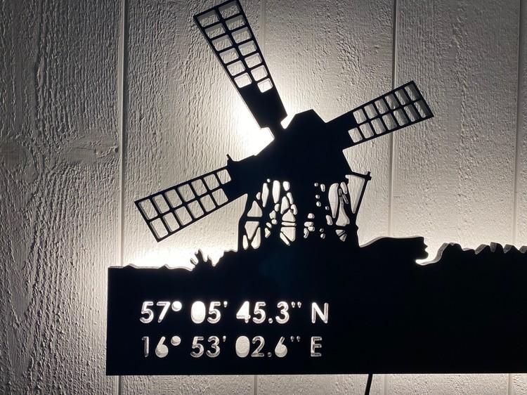 Vägglampa Skurkvarnen i Jordhamn