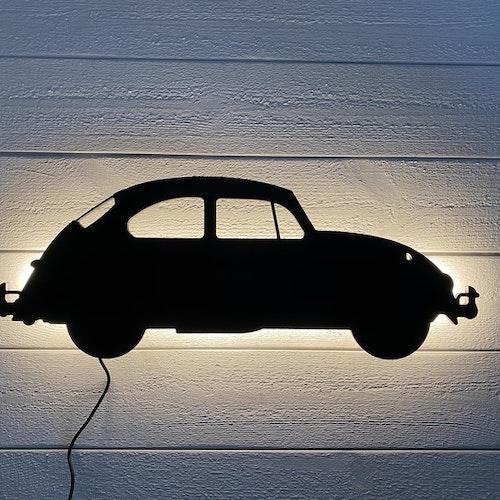 Vägglampa Bil VW Bubbla