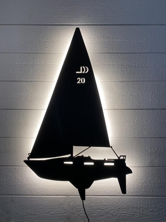 Vägglampa Segelbåt Windex 92