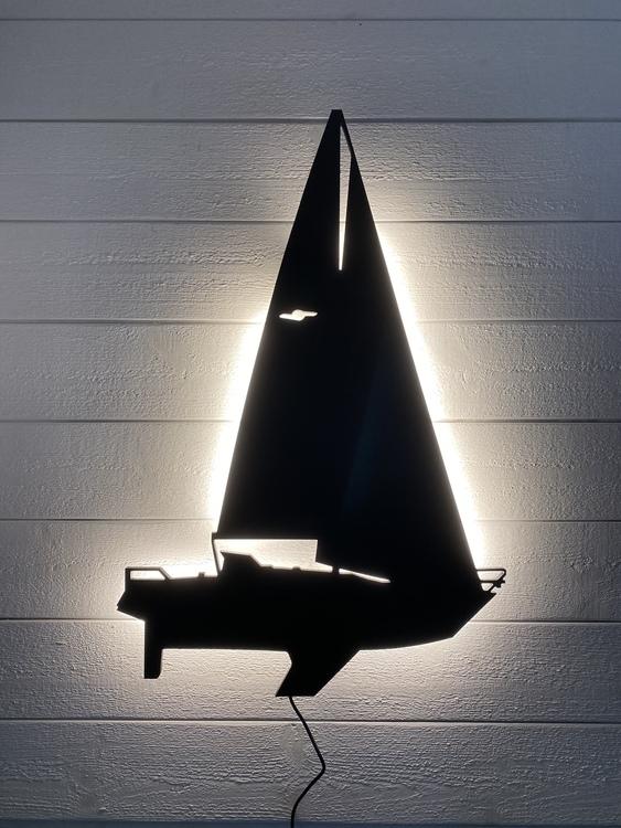 Vägglampa Segelbåt Beason 31
