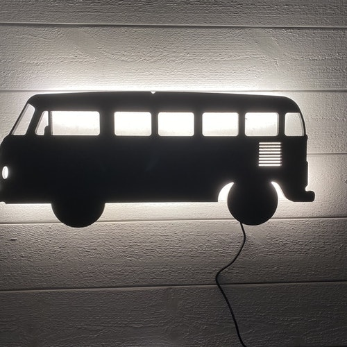 Vägglampa Bil VW Buss typ 1